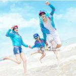 【日焼け対策】カップルも家族も、今流行りの長袖水着がいい!のサムネイル画像