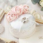 【結婚式】素敵なリングピローを手作りしましょ♪【ウェディング】のサムネイル画像