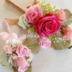 コサージュの扱い方は?結婚式につけたい子サージを特集しました!のサムネイル画像