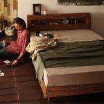 ★驚きの素材を使ったお洒落で簡単なベッドのDIY参考画像集★のサムネイル画像
