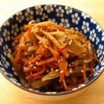 ホッとする美味しさ!和食の定番副菜きんぴらのレシピ大特集!のサムネイル画像