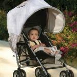 ベビーカー移動の日差しに注意!赤ちゃんを日よけで守ろう!のサムネイル画像