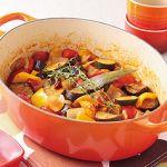 レンジで本格レシピ!残り野菜で作れちゃう、手軽なラタトゥイユ!!のサムネイル画像