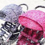 普段のお出掛けをもっと楽しくするベビーカーハンドルカバーのサムネイル画像
