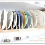 これで使いやすくすっきり収納!かさばるお皿の収納術をご紹介しますのサムネイル画像
