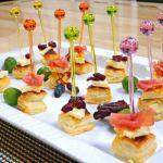 ホームパーティにぴったし!小さくてかわいいピンチョスのレシピのサムネイル画像