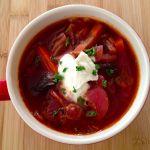 寒い夜はボルシチで!ロシア料理ボルシチのレシピをご紹介します!のサムネイル画像