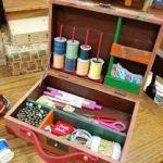 裁縫道具が綺麗にきちんと収納できるソーイングボックスが満載!のサムネイル画像