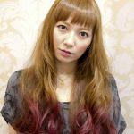 毛先カラーでカラフルヘアを楽しもう!おすすめヘアスタイル特集のサムネイル画像