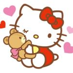 自分や友人の子どもへのプレゼントに!ハローキティのぬいぐるみ♡のサムネイル画像