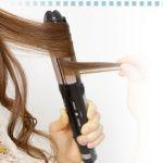髪型は自由自在!アイロンを使って巻き髪をつくる人、急増中!のサムネイル画像
