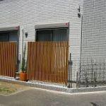 必要な場所にだけ☆目隠しフェンスの作り方☆diyでローコストのサムネイル画像
