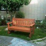 <<かっこいい~ガーデンベンチを置いてお庭にアクセントを!>>のサムネイル画像
