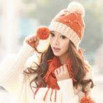 秋冬のお洒落アイテム!ボンボンが可愛いニット帽×コーデ☆のサムネイル画像
