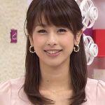 カトパンこと女子アナウンサー加藤綾子さんの髪型を特集します!のサムネイル画像