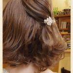 クリップで簡単に出来る☆ハーフアップのヘアアレンジが可愛い! のサムネイル画像