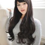 黒髪ロング×パーマでお人形さんみたいに可愛いヘアスタイル☆のサムネイル画像