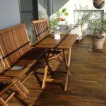 ベランダを更なる癒し空間に変えよう!ベランダ用家具のご紹介です!のサムネイル画像