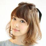 迷ったらこれ!ミディアムヘアの簡単アレンジをご紹介します☆のサムネイル画像