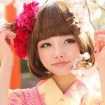 成人式を迎える女の子必見!かわいい!ボブのタイプ別成人式の髪型のサムネイル画像