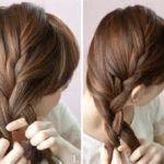 人気のゆるふわ三つ編み。自分で出来る簡単おしゃれなヘアアレンジのサムネイル画像