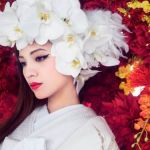 白無垢・色打掛をオシャレに着たい花嫁さん必見!和装の洋髪カタログのサムネイル画像