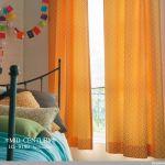 幸せ感じる毎日に。ハッピーカラーオレンジのカーテンをお部屋に。のサムネイル画像