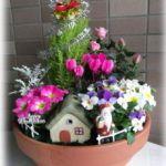 寄せ植えで、植物を育てる方法があります。上手な方法を調べます!のサムネイル画像