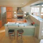 キッチンの配置によって、使い勝手が良く&オシャレなスペースに☆のサムネイル画像
