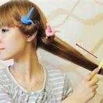 【100均でカンタン巻き髪!】スポンジカーラーの上手な巻き方☆長さ別のサムネイル画像