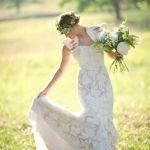 ウェディングを控えたお姫様へ。素敵な花冠を結婚式にいかがですか?のサムネイル画像