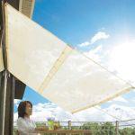 暑い日差しもこれでバッチリ!ベランダにサンシェードを設置しようのサムネイル画像
