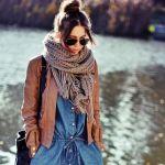 この冬オシャレ可愛いマフラーの巻き方で周りと差をつけませんか?のサムネイル画像