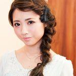 三つ編み・編み込みを使った可愛いヘアアレンジ☆長さ別カタログのサムネイル画像