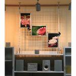 【diy】メッシュパネルを使ってお部屋の小物もスッキリ収納!!!のサムネイル画像