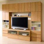 テレビが収納できるオシャレなテレビラックは収納力抜群のインテリアのサムネイル画像