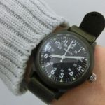 あえてのゴツめな腕時計が可愛い♡ミリタリーウォッチの魅力!のサムネイル画像