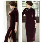 上品で女性の体を美しく見せる!ロングチャイナドレスの魅力☆のサムネイル画像