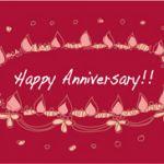 感謝の気持ちや愛情を伝えたい!結婚記念日のメッセージの文例集ですのサムネイル画像