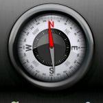【コンパス】アウトドアや家具の設置に役立つ方位磁石&水平器アプリのサムネイル画像