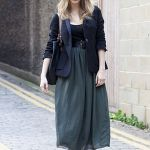 冬にぴったりなロングスカートがオシャレ!可愛さがアップ!のサムネイル画像