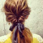 梅雨時期のまとまらない髪の毛も簡単アレンジで乗り切ろう!!のサムネイル画像