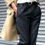 【スラックスコーデ】通勤コーデには欠かせないスラックス!のサムネイル画像