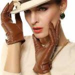 おしゃれなレディース手袋なら高級感溢れるレザーがおすすめ!のサムネイル画像