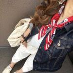 「スカーフ&バンダナ柄」が、今レディースで流行りのファッション♥のサムネイル画像