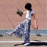 これで完璧! 花柄ガウチョ・ワイドパンツ、スカートのコーデのサムネイル画像