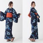 夏祭り、花火大会と大活躍してくれそうな浴衣特集!【紺色】のサムネイル画像