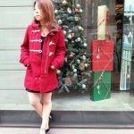 【女子必見】赤のダッフルコートが使い勝手よし!欲しいアイテム!のサムネイル画像