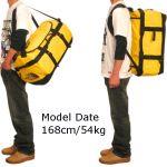 アウトドアに持っていくバッグはやっぱり大き目のボストンバッグのサムネイル画像
