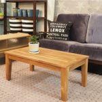 街の雑貨店で見つかる。おしゃれな木製ローテーブル紹介します♪のサムネイル画像